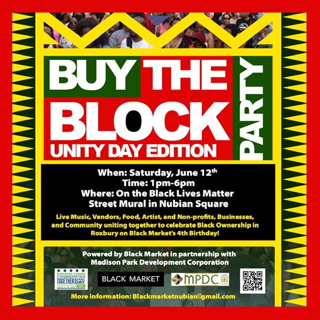 Buy the Block Flyer